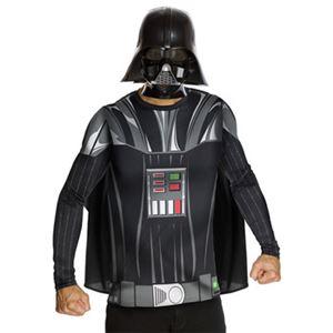 【コスプレ】 RUBIE'S(ルービーズ) 880678 Darth Vader M ダースベイダー (スターウォーズ) Stdサイズ - 拡大画像