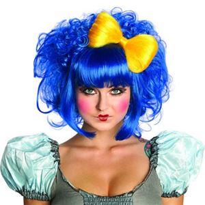 【コスプレ】 RUBIE'S(ルービーズ) 52673 Cutie Doll Wig ブルー - 拡大画像