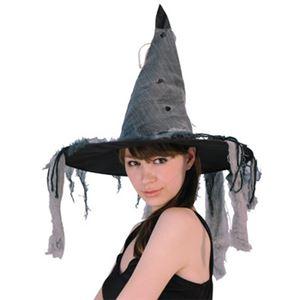 【コスプレ】 RUBIE'S(ルービーズ) 802494 Shadow Witch Hat シャドウウィッチハット - 拡大画像
