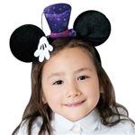 【コスプレ】 RUBIE'S(ルービーズ) 95036 Disney Headband Mickey Silk Hat シルクハット ミッキー