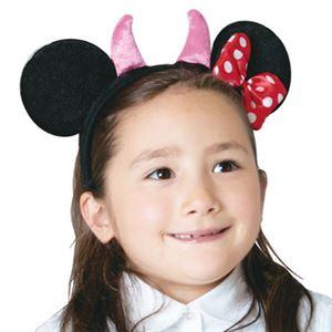 【コスプレ】 RUBIE'S(ルービーズ) 95039 Disney Headband Minnie Devil Horn デビルホーン ミニー - 拡大画像