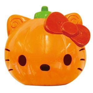 【パーティーグッズ】【ハロウィン】RUBIE'S(ルービーズ) 95175 Lightup Blinking Hello Kitty ハローキティランタン - 拡大画像