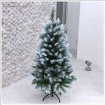 【クリスマスツリー】120cmスノーデコツリー 枝ぶり高級