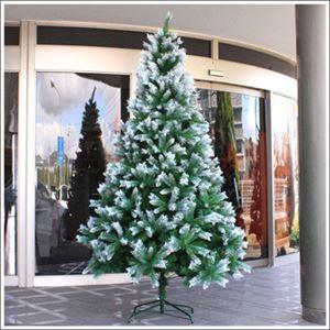 【クリスマス】240cmスノーデコツリー - 拡大画像