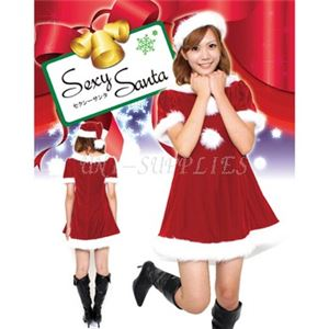 【クリスマスコスプレ】Patymo セクシーサンタ(レディースサンタコスチューム)
