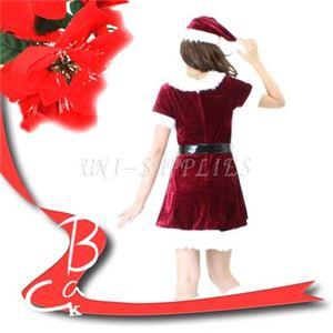 【クリスマスコスプレ】Patymo スウィートサンタ(レディースサンタコスチューム)