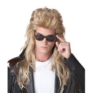 【コスプレ】80'S ROCK MULLET WIG 【ウィッグ・かつら】 - 拡大画像