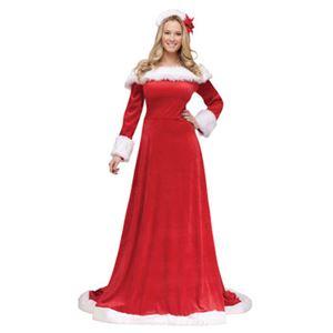 【コスプレ】S/M Holiday Gown Adlt 大人用(SM) - 拡大画像