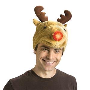 【コスプレ】Reindeer Hat w/ LU Nose - 拡大画像