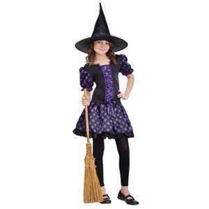 【コスプレ】Sml/Whimsical Witch Chld Cstm 子供用(S) - 拡大画像