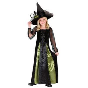 【コスプレ】Lrg Witch Goth Maiden Kids 子供用(L) - 拡大画像