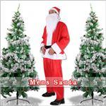 【クリスマスコスプレ 衣装】メンズサンタ Men's Santa costume RED PLUSH レッド