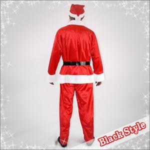 【クリスマスコスプレ】メンズサンタ Men's Santa costume RED PLUSH レッドの写真3