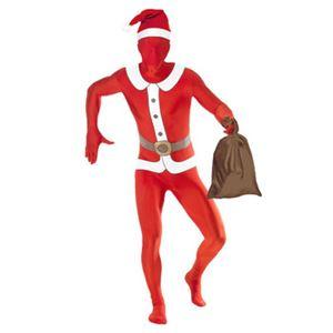 【コスプレ】Santa Second Skin Costume and Santa Sack M 大人用 M - 拡大画像