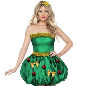 【コスプレ】Fever Festive Tree Costume S 大人用 S