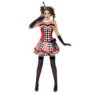 【コスプレ】Fever Boutique Clown Cutie Costume S 大人用 M - 拡大画像