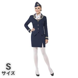 【コスプレ】Airways Attendant Costume S 大人用 S - 拡大画像