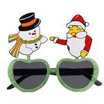 【コスプレ】SANTA & SNOWMAN GLASSES