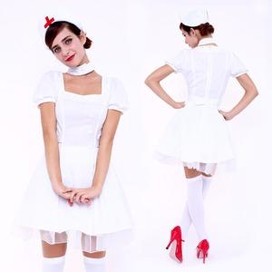 【コスプレ】CLUB QUEEN Sweet Nurse(スウィートナース) - 拡大画像