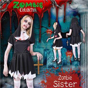 コスプレ衣装/コスチューム 【Sister ゾンビシスター】 ポリエステル 『ZOMBIE COLLECTION Zombie』 〔ハロウィン〕の写真1