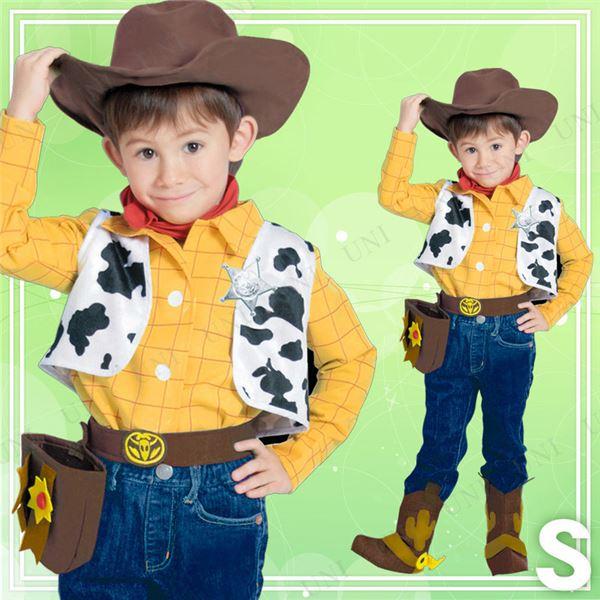 【ディズニーコスプレ】Child Woody トイストーリー ウッディ Sサイズ
