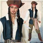 【コスプレ】802537 Adult Jack Sparrow ジャックスパロウ 大人用
