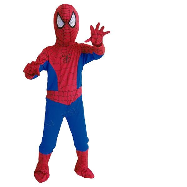 【ハロウィン仮装】Child Spiderman スパイダーマン Mサイズ