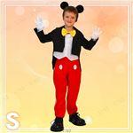 ディズニーコスプレ/コスプレ衣装 【Child Mickey S ミッキーマウス】 子供用 〔ハロウィン イベント〕