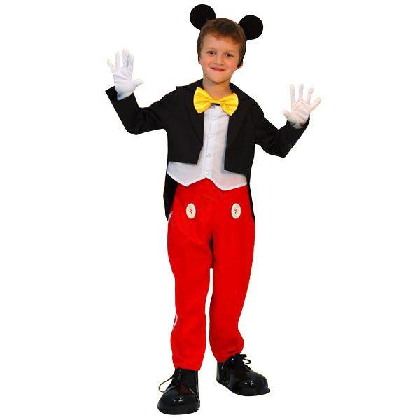 【ディズニーコスプレ】Child Mickey ミッキーマウス 子供用Lサイズ