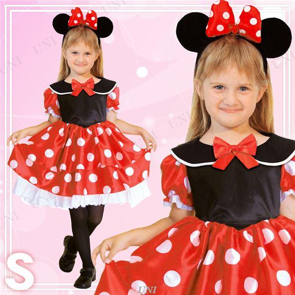 【ディズニー衣装】Child Minnie ミニーマウス 子供用 Sサイズ