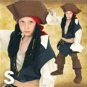 ディズニーコスプレ/コスプレ衣装 【Child Jack Sparrow S ジャックスパロウ】 子供用 〔ハロウィン イベント〕の写真1
