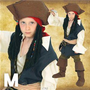 ディズニーコスプレ/コスプレ衣装 【Child Jack Sparrow M ジャックスパロウ】 子供用 〔ハロウィン イベント〕の写真1