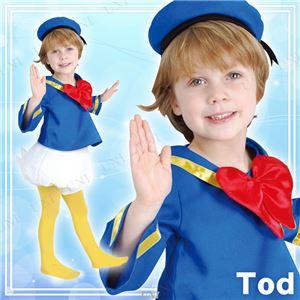 ディズニーコスプレ/コスプレ衣装 【Child Donald Tod ドナルドダック】 子供用 〔ハロウィン イベント〕の写真1