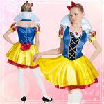 ディズニーコスプレ/コスプレ衣装 【Adult DX Snow White 白雪姫】 大人用 〔ハロウィン イベント〕 の画像