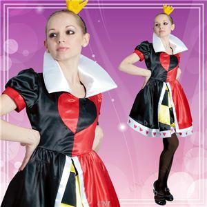 【コスプレ】802064 Adult Queen Of Hearts ハートの女王 大人用 - 拡大画像