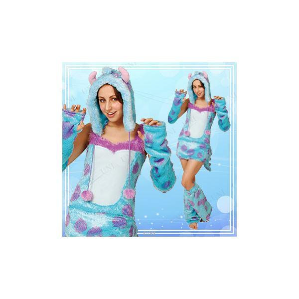 ディズニーコスプレ/コスプレ衣装 【Adult Sulley サリー】 大人用 〔ハロウィン イベント〕