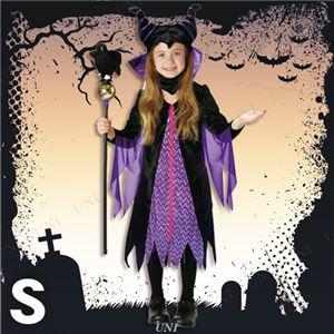 ディズニーコスプレ/コスプレ衣装 【Child Maleficent S マレフィセント】 子供用 〔ハロウィン イベント〕の写真1