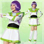 【コスプレ】95308 Adult Buzz Lightyear For Woman バズライトイヤー 女性用