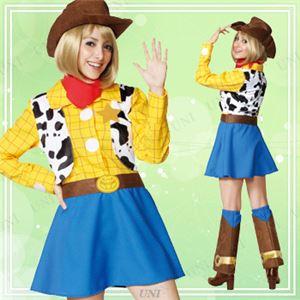 ディズニーコスプレ/コスプレ衣装 【Adult Woody For Woman ウッディ】 女性用 〔ハロウィン イベント〕の写真1