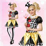【コスプレ】95353 Clown Heart ピエロ