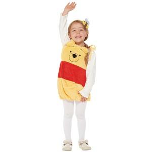 コスプレ衣装/コスチューム 【Salopette Pooh For Child プーさん】 子供用 〔ハロウィン イベント〕