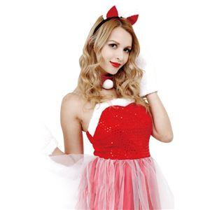 【クリスマスコスプレ 衣装】CLUB QUEEN Cat Lady Santa(キャットレディサンタ)の写真1