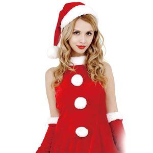 クリスマスコスプレ/衣装 【Heart Santa ハートサンタ】 レディース 『CLUB QUEEN』 〔イベント パーティー〕