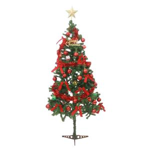 クリスマスツリー X'mas Tree Redの写真1