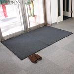 玄関マット(Gray)120×180cm