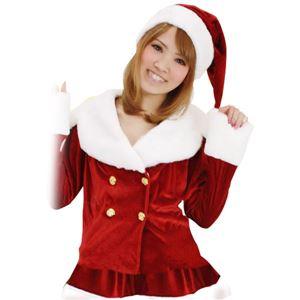 【クリスマスコスプレ 衣装】Patymo ドリーミングサンタ(無地)の写真1
