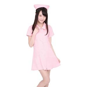 【コスプレ】Patymo ナース服(ピンク) - 拡大画像