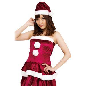 クリスマスコスプレ/衣装 【DK RED VELVET】 レディースサンタ 『Ladie's Santa costume』 〔イベント パーティー〕