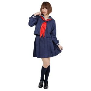 【コスプレ】 Patymo セーラ服 長袖紺