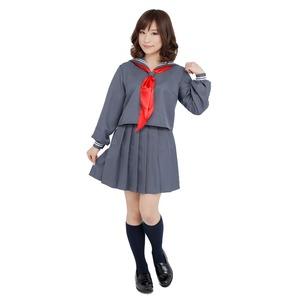 【コスプレ】 Patymo セーラ服 長袖グレー